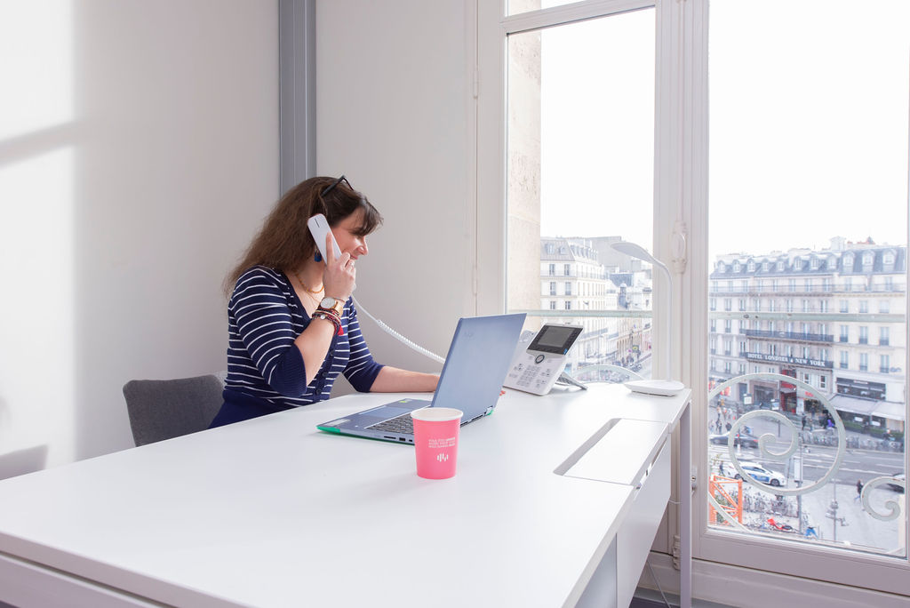 espace de travail flexible multiburo, coworking accessible confinement